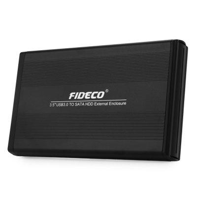 FIDECO D3U - U3 3.5 inch USB3.0 External Hard Drive Enclosure