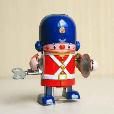 Walking Tin Wind-up Robot Retro Gift