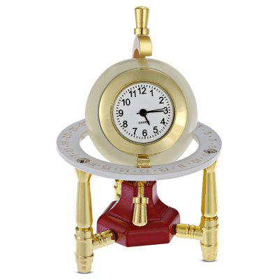 Fashion Pocket Size Tripod Global Clock