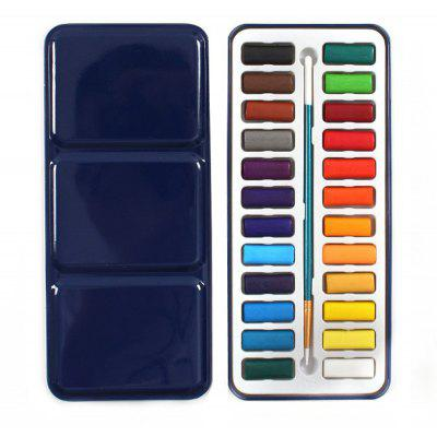 24 in 1 Solid Watercolor Paints