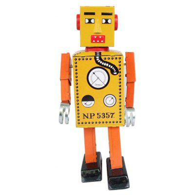 Walking Robot Tin Vintage Mechanical Kid Gift