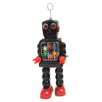 Walking Gear Robot Tin Retro Vintage Mechanical Gift
