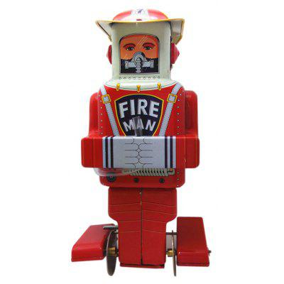 Clockwork Spring Walking Firefighting Robot