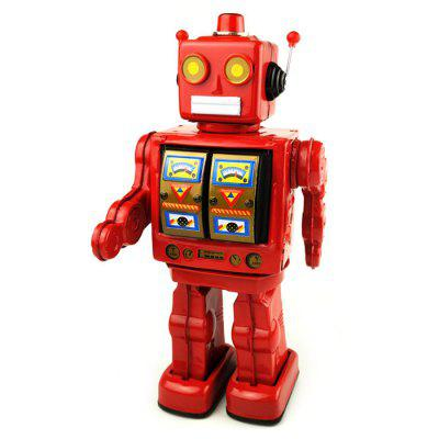 Walking Robot Tin Retro Mechanical Kid Gift