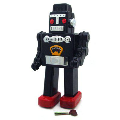 Walking Wind-up Robot Tin Retro Vintage Present
