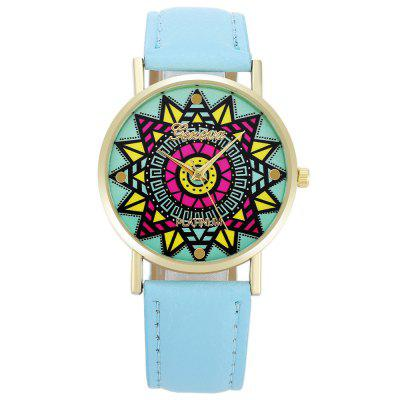Geneva Fashion Colorful Flower Pattern Dial Lady Quartz WatchWomens Watches<br>Geneva Fashion Colorful Flower Pattern Dial Lady Quartz Watch<br><br>Available Color: Black,Blue,Pink,White, Black,Blue,Pink,White<br>Band material: PU Leather, PU Leather<br>Band size: 24 x 2 cm / 9.45 x 0.79 inches , 24 x 2 cm / 9.45 x 0.79 inches<br>Brand: Geneva, Geneva<br>Case material: Alloy, Alloy<br>Clasp type: Pin buckle, Pin buckle<br>Dial size: 3.8 x 3.8 x 0.6 cm / 1.5 x 1.5 x 0.24 inches , 3.8 x 3.8 x 0.6 cm / 1.5 x 1.5 x 0.24 inches<br>Display type: Analog, Analog<br>Movement type: Quartz watch, Quartz watch<br>Package Contents: 1 x Geneva Fashion Lady Quartz Watch, 1 x Geneva Fashion Lady Quartz Watch<br>Package size (L x W x H): 25.00 x 4.80 x 0.70 cm / 9.84 x 1.89 x 0.28 inches, 25.00 x 4.80 x 0.70 cm / 9.84 x 1.89 x 0.28 inches<br>Package weight: 0.058 kg, 0.058 kg<br>Product size (L x W x H): 24.00 x 3.80 x 0.60 cm / 9.45 x 1.5 x 0.24 inches, 24.00 x 3.80 x 0.60 cm / 9.45 x 1.5 x 0.24 inches<br>Product weight: 0.024 kg, 0.024 kg<br>Shape of the dial: Round, Round<br>Watch style: Fashion, Fashion<br>Watches categories: Female table, Female table<br>Wearable length: 18 - 21.5 cm / 7.09 - 8.46 inches, 18 - 21.5 cm / 7.09 - 8.46 inches