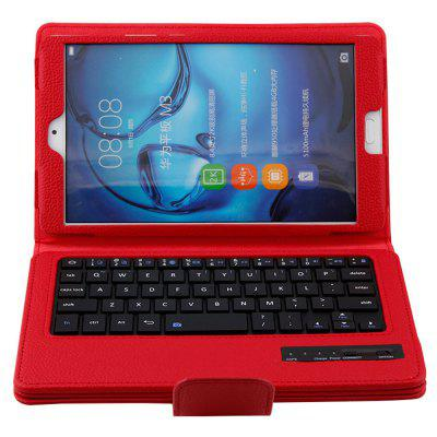 BTV - DL09 Bluetooth Keyboard Case for Huawei MediaPad M3