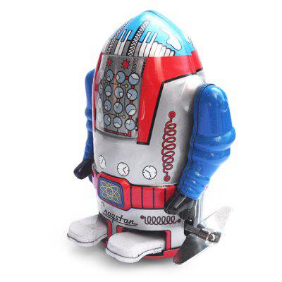 Walking Wind-up Robot Tin Vintage Gift