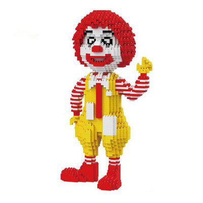 Classic Clown Model Building Block - 2100pcs