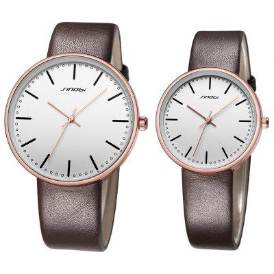 Sinobi 9601G Fashion Couple Watches