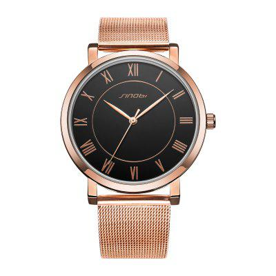 Sinobi 9599G Fashion Men Quartz WatchMens Watches<br>Sinobi 9599G Fashion Men Quartz Watch<br><br>Band material: Stainless Steel<br>Band size: 24 x 1.9 cm / 9.45 x 0.75 inches<br>Brand: Sinobi<br>Case material: Alloy<br>Clasp type: Hook buckle<br>Dial size: 3.91 x 3.91 x 0.77 cm / 1.54 x 1.54 x 0.30 inches<br>Display type: Analog<br>Movement type: Quartz watch<br>Package Contents: 1 x Sinobi 9599G Fashion Men Quartz Watch<br>Package size (L x W x H): 28.00 x 8.00 x 3.50 cm / 11.02 x 3.15 x 1.38 inches<br>Package weight: 0.115 kg<br>Product size (L x W x H): 24.00 x 3.91 x 0.77 cm / 9.45 x 1.54 x 0.3 inches<br>Product weight: 0.055 kg<br>Shape of the dial: Round<br>Watch color: Black +Rose Gold, White + Rose Gold, Black<br>Watch style: Fashion<br>Watches categories: Male table