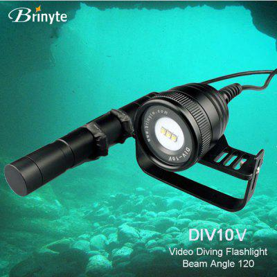 Brinyte DIV10V CREE XM L2 U2 3 LEDs Diving FlashlightLED Flashlights<br>Brinyte DIV10V CREE XM L2 U2 3 LEDs Diving Flashlight<br><br>Available Light Color: White<br>Battery Quantity: 3 x 26650 battery (not included)<br>Battery Type: 26650<br>Beam Distance: 50-100m<br>Body Material: Durable 6061 Aluminum Alloy<br>Brand: Brinyte<br>Circuitry: Max. 2.8A<br>Emitters: Cree XM-L2 U2<br>Emitters Quantity: 3 x Cree XM-L2 U2<br>Feature: Diving, Lightweight<br>Flashlight Processing Technology: Aerospace Grade Aluminum Body with Anti Scratching Type III Hard Anodization<br>Function: Walking, Hiking, Exploring, Diving, Camping<br>Lens: Glass Lens<br>Light Modes: High,Low,Mid,SOS,Strobe<br>Lumens Range: &gt;1000Lumens<br>Luminous Flux: 3000Lm<br>Model: DIV10V<br>Package Contents: 1 x Diving Flashlight, 1 x Setup Package, 3 x Spare O-ring, 1 x English User Manual<br>Package size (L x W x H): 34.00 x 12.00 x 12.00 cm / 13.39 x 4.72 x 4.72 inches<br>Package weight: 1.2000 kg<br>Power Source: Battery<br>Product size (L x W x H): 7.50 x 6.60 x 6.60 cm / 2.95 x 2.6 x 2.6 inches<br>Product weight: 0.6300 kg<br>Reflector: No<br>Switch Location: Tail Cap<br>Waterproof Standard: IP-68 Standard Waterproof (Underwater 150m)