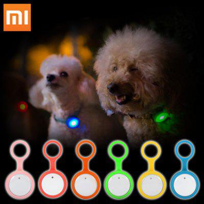 Original Xiaomi Flashing Smart Button Dog Tag Anti-lost Safety Light