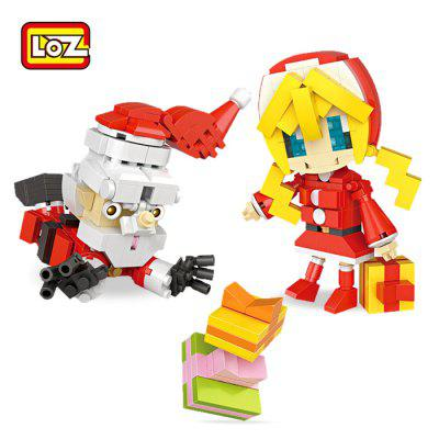 LOZ Figure Cartoon ABS Intelligent Building Brick