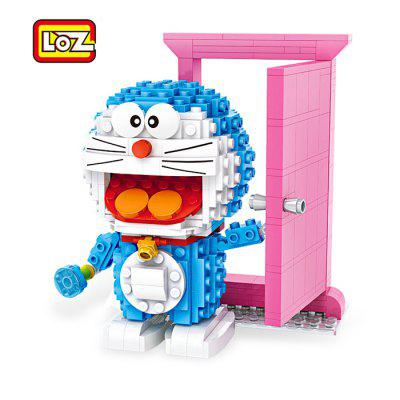 LOZ Animation Figure Shape ABS Cartoon Building Brick