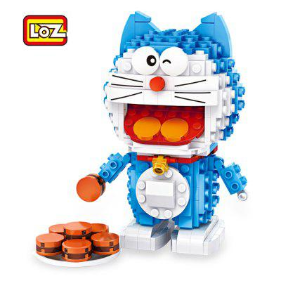 LOZ Animation Figure Style ABS Cartoon Building Brick