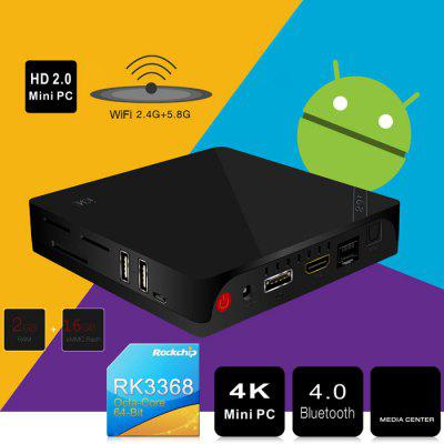 Beelink i68 TV XBMC Android Box 4K 1000M Ethernet