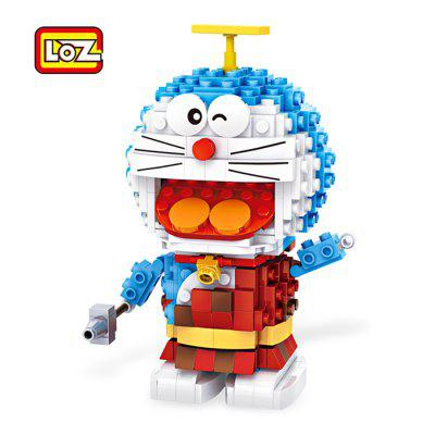 LOZ Figure Style ABS Cartoon DIY Building Brick