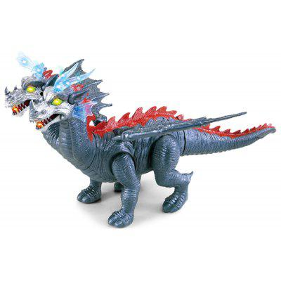 Electric Children Double-head Pterosauria Walking Toy