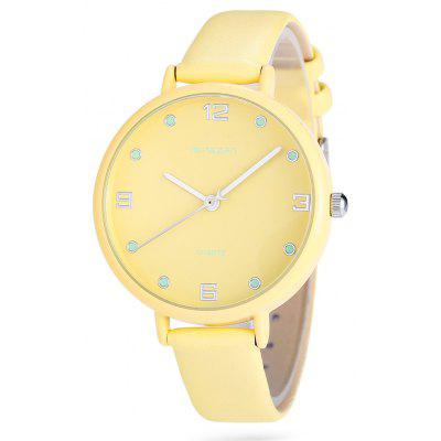Mingzan M6217 Mode Lady Quartz Watch