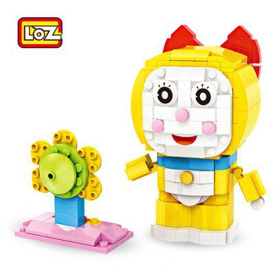 LOZ Anime Figure Style ABS Cartoon Building Brick