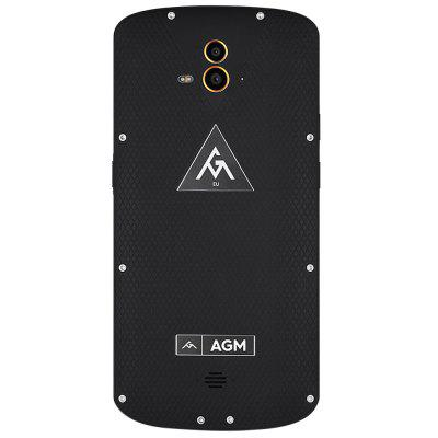 AGM X1 4G PhabletCell phones<br>AGM X1 4G Phablet<br><br>2G: GSM 900/1800/1900MHz<br>3G: WCDMA 850/900/2100MHz<br>4G: FDD-LTE 800/1800/2100/2600MHz<br>Additional Features: Gravity Sensing, Fingerprint Unlocking, Fingerprint recognition, Browser, Bluetooth, Alarm, 4G, Light Sensing, 3G, GPS, Wi-Fi, Proximity Sensing, People, NFC, MP4, MP3<br>Back-camera: Dual 13.0MP Cameras<br>Battery Capacity (mAh): 5400mAh / Quick Charge 3.0<br>Battery Type: Non-removable<br>Bluetooth Version: V4.0<br>Brand: AGM<br>Camera type: Triple cameras<br>Cell Phone: 1<br>Cores: Octa Core, 1.5GHz<br>CPU: Qualcomm Snapdragon 617<br>Earphones: 1<br>English Manual : 1<br>External Memory: TF card up to 128GB (not included)<br>Front camera: 5.0MP<br>Google Play Store: Yes<br>I/O Interface: 1 x Nano SIM Card Slot, 1 x Micro SIM Card Slot<br>Language: Supports multi-language<br>Music format: WAV, OGG, MP4, MP3, ACC, AAC, WMA<br>Network type: GSM+WCDMA+FDD-LTE+TD-LTE<br>OS: Android 5.1<br>Package size: 22.00 x 14.10 x 6.10 cm / 8.66 x 5.55 x 2.4 inches<br>Package weight: 0.5840 kg<br>Picture format: GIF, PNG, JPEG, BMP<br>Power Adapter: 1<br>Product size: 16.30 x 7.91 x 1.16 cm / 6.42 x 3.11 x 0.46 inches<br>Product weight: 0.2130 kg<br>RAM: 4GB RAM<br>ROM: 64GB<br>Screen resolution: 1920 x 1080 (FHD)<br>Screen size: 5.5 inch<br>Screen type: Capacitive<br>Sensor: Ambient Light Sensor,Gravity Sensor,Proximity Sensor<br>Service Provider: Unlocked<br>SIM Card Slot: Dual SIM, Dual Standby<br>SIM Card Type: Micro SIM Card, Nano SIM Card<br>TDD/TD-LTE: TD-LTE B38/B39/B40/41<br>Type: 4G Phablet<br>USB Cable: 1<br>Video format: MPG, AVI, 3GP, OGG<br>Wireless Connectivity: Bluetooth, 4G, 3G, GSM, GPS