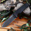 HARNDS Thor HK4005 Fixed Blade Knife with G10 Handle - BLACK