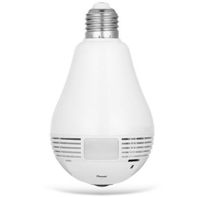 Bulb Shape Panorama WiFi IP Camera