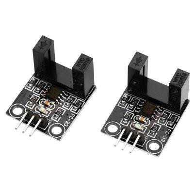 2PCS DC 5V Infrared Radiation Velometer Sensor Module