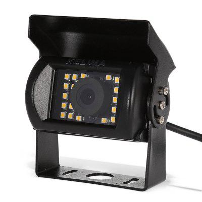 KELIMA Waterproof 24 SMD LED Rearview CameraCar Monitor &amp; Rear Camera<br>KELIMA Waterproof 24 SMD LED Rearview Camera<br><br>Brand: KELIMA<br>Night vision: Yes<br>Package Contents: 1 x KELIMA Rearview Camera, 1 x Audio / Video Connection Cable, 1 x English User Manual<br>Package size (L x W x H): 13.00 x 9.50 x 6.50 cm / 5.12 x 3.74 x 2.56 inches<br>Package weight: 0.344 kg<br>Power Cable Length: 42.8cm power cable, 98cm audio / video connection cable<br>Product size (L x W x H): 7.20 x 5.50 x 7.60 cm / 2.83 x 2.17 x 2.99 inches<br>Product weight: 0.262 kg<br>Type: Rear View Camera