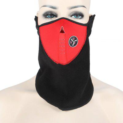 NUCKILY Fleece Riding MaskCycling Clothings<br>NUCKILY Fleece Riding Mask<br><br>Brand: NUCKILY<br>Color: Black,Blue,Red<br>Feature: Windproof, Keep Warm, Breathable<br>Material: Fleece<br>Package Contents: 1 x NUCKILY Face Mask<br>Package size (L x W x H): 18.00 x 18.00 x 2.00 cm / 7.09 x 7.09 x 0.79 inches<br>Package weight: 0.0540 kg<br>Product size (L x W x H): 50.00 x 24.00 x 0.20 cm / 19.69 x 9.45 x 0.08 inches<br>Product weight: 0.0220 kg<br>Size: One Size<br>Suitable Crowds: Unisex