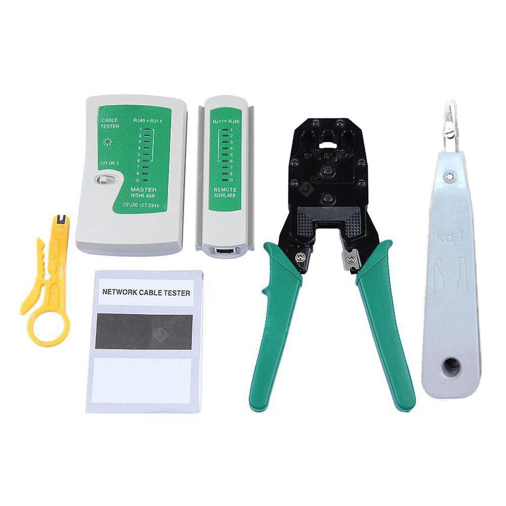 Ethernet Lan Network Cable Tester Set 2012 Free Shipping Continuity Circuit Alarm Or