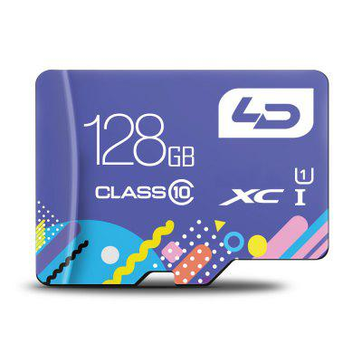 LD Colorful Edition 128GB Micro SDHC Memory Card