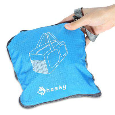 Hasky CY - 2220 Travel HandbagDuffel Bags<br>Hasky CY - 2220 Travel Handbag<br><br>Best Use: Backpacking,Camping,Traveling<br>Brand: Hasky<br>Capacity: 31 - 40L<br>Features: Durable, Foldable, Ultra Light, Water Resistant<br>Package Contents: 1 x Hasky CY - 2220 Handbag, 1 x Strap<br>Package Dimension: 20.00 x 20.00 x 10.00 cm / 7.87 x 7.87 x 3.94 inches<br>Package weight: 0.409 kg<br>Product Dimension: 44.00 x 26.00 x 26.00 cm / 17.32 x 10.24 x 10.24 inches<br>Product weight: 0.374 kg