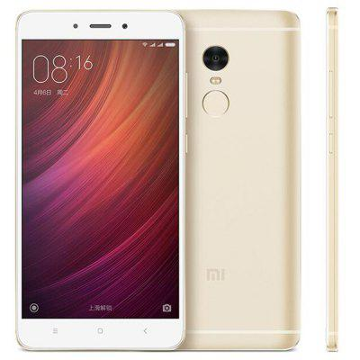 Buy GOLDEN Xiaomi Redmi Note 4 16GB ROM 4G Phablet for $188.10 in GearBest store