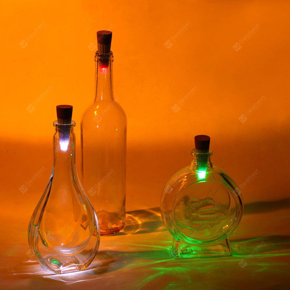Rechargeable Cork Bottle Night Light