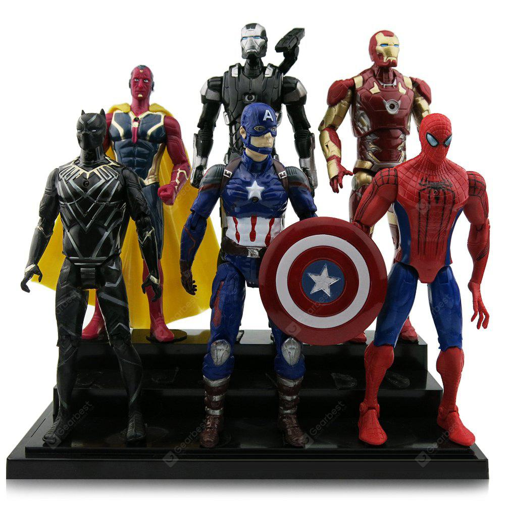 Buy Animation Character Action Figure Model - / set COLORMIX