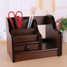 Gearbest Wooden Storage Box File Basket