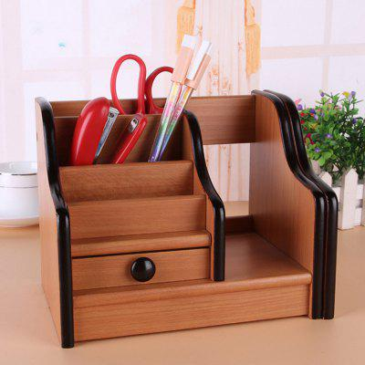 Wooden Storage Box File Basket