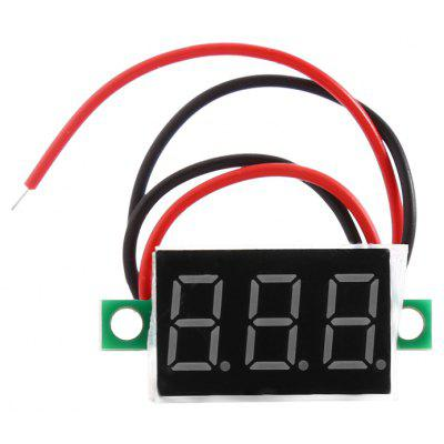 DC 4.5 - 30V LED Panel Voltmeter Digital Voltage Meter