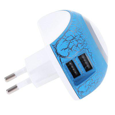 Dual USB Power Adapter Charger