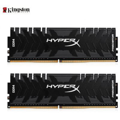 Banco de memória original Kingston HyperX HX433C16PB3K2 / 16 Desktop DDR4