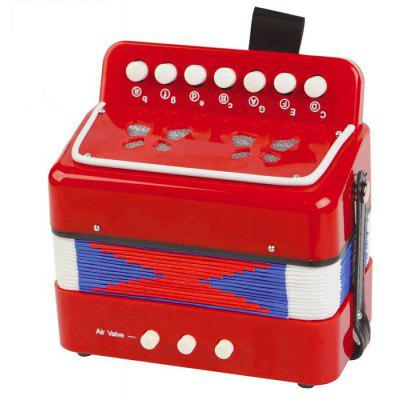 Musical Instrument 7 Key Accordion Educational Present