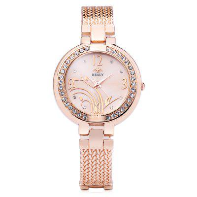 REALY Fashion Lady Quartz WatchWomens Watches<br>REALY Fashion Lady Quartz Watch<br><br>Available Color: Gold,Rose Gold,Silver<br>Band material: Stainless Steel<br>Band size: 22 x 2 cm / 8.66 x 0.79 inches<br>Case material: Alloy<br>Clasp type: Sheet folding clasp<br>Dial size: 4 x 4 x 1 cm / 1.57 x 1.57 x 0.39 inches<br>Display type: Analog<br>Movement type: Quartz watch<br>Package Contents: 1 x REALY Fashion Lady Quartz Watch<br>Package size (L x W x H): 23.00 x 5.00 x 2.00 cm / 9.06 x 1.97 x 0.79 inches<br>Package weight: 0.090 kg<br>Product size (L x W x H): 22.00 x 4.00 x 1.00 cm / 8.66 x 1.57 x 0.39 inches<br>Product weight: 0.040 kg<br>Shape of the dial: Round<br>Watch style: Fashion<br>Watches categories: Female table