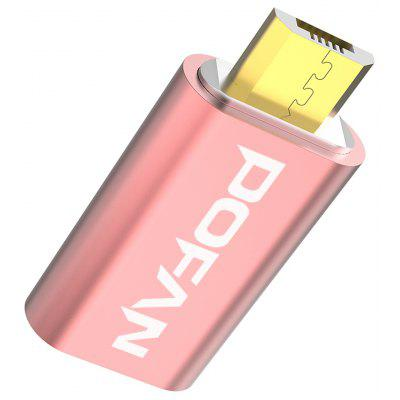 Buy POFAN P10 Micro USB to Micro USB Adapter ROSE GOLD for $2.74 in GearBest store