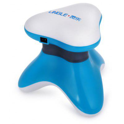 Buy BLUE LINGLE PHR BY Handy Triangular Vibration Massager for $5.04 in GearBest store
