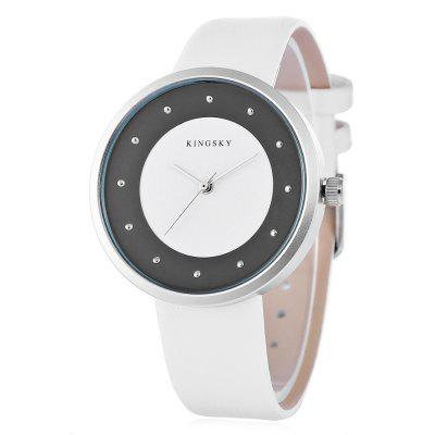 KINGSKY 8230M Fashion Lady Quartz Watch