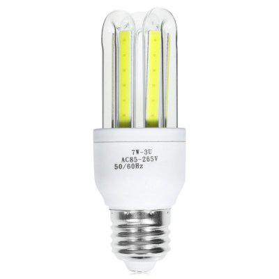 E27 7W 560LM COB U-shaped LED Bulb