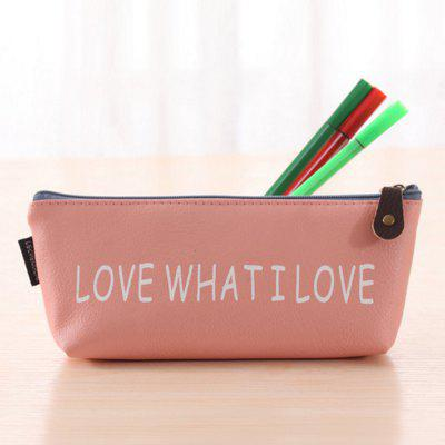 Boat Style PU Pen Bag / Pencil Pouch