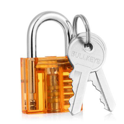 Mini Transparent Visual Practice Lock Tool Set